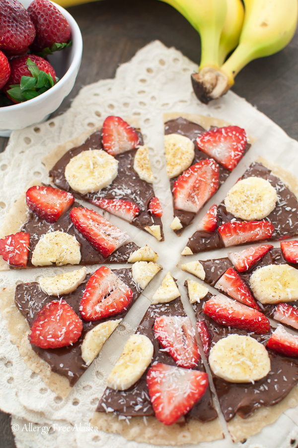 Gluten-Free Sweet Tortilla Pizza Recipe from Allergy Free Alaska