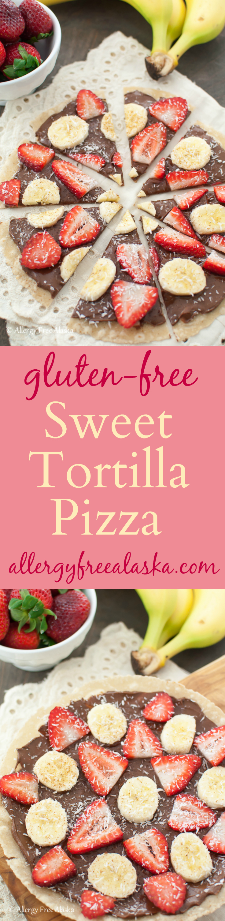 Gluten Free Sweet Tortilla Pizza from Allergy Free Alaska