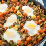 Sweet Potato Breakfast Skillet with Sausage