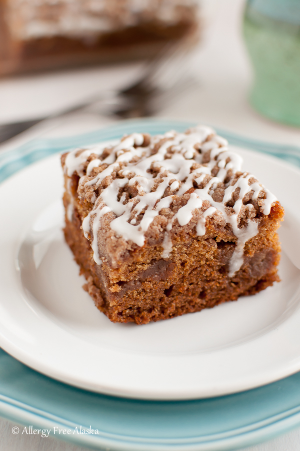 Gluten-Free Cinnamon Streusel Coffee Cake Recipe - Allergy Free Alaska