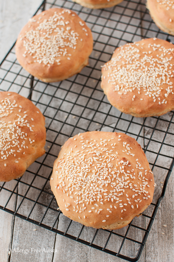 Gluten Free Hamburger Buns Recipe