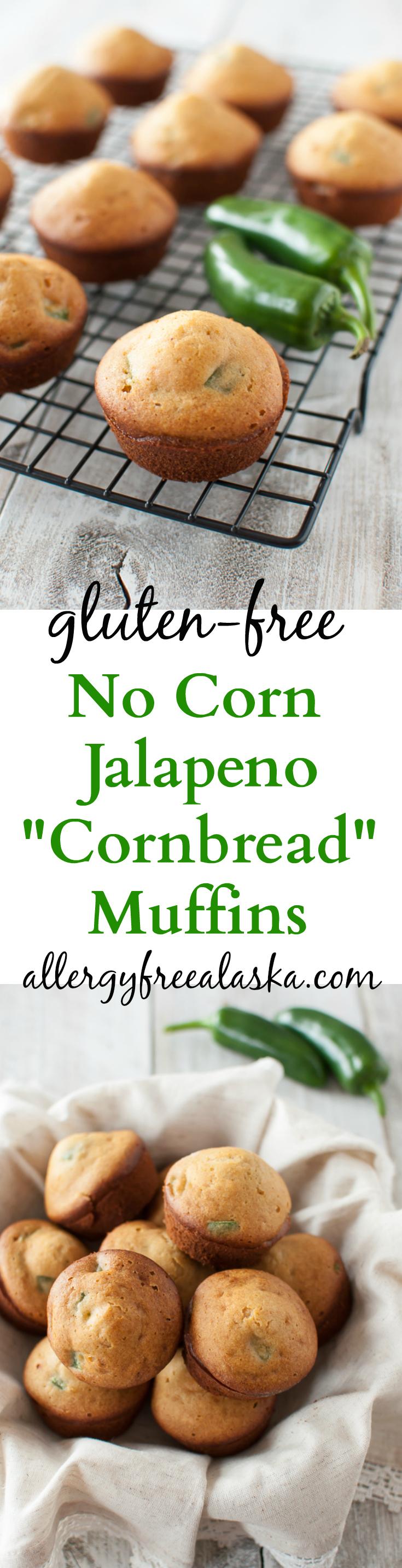 Gluten-Free No Corn Jalapeno %22Cornbread%22 Muffins Recipe from Allergy Free Alaska