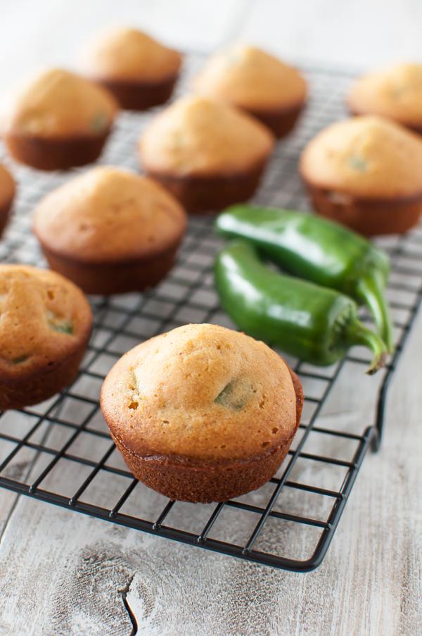 No-Corn Jalapeno Cornbread Muffins {gluten-free} from Allergy Free Alaska