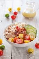 Tuna and Bacon Quinoa Bowl with Lemony Vinaigrette