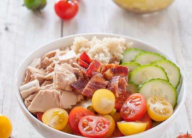 Tuna and Bacon Quinoa Bowl Recipe - Allergy Free Alaska