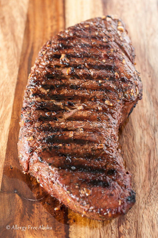 Gluten Free Grilled and Marinated London Broil Recipe