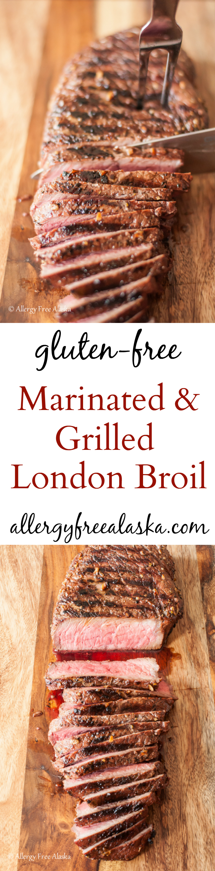 Gluten-Free Marinated & Grilled London Broil Recipe from Allergy Free Alaska