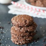 Paleo Vegan Double Chocolate Protein Cookies