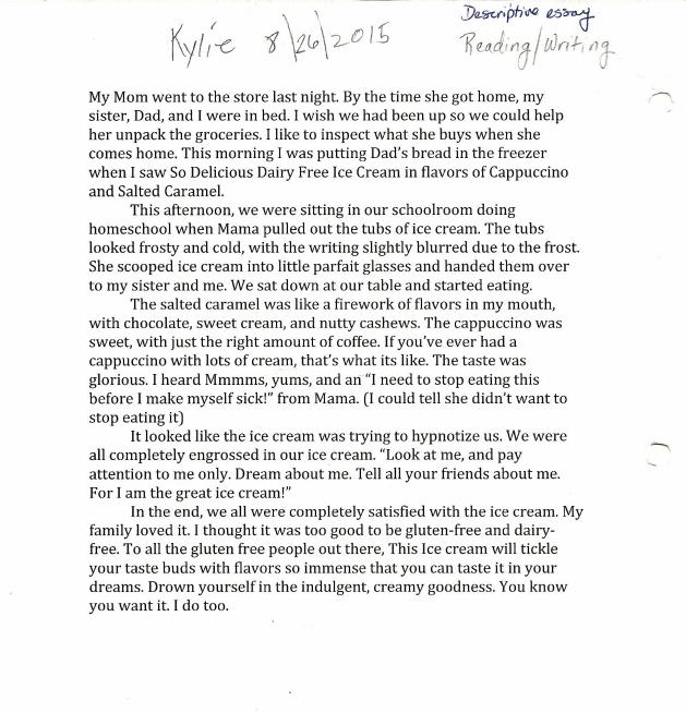 Kylie SoDelicious Essay