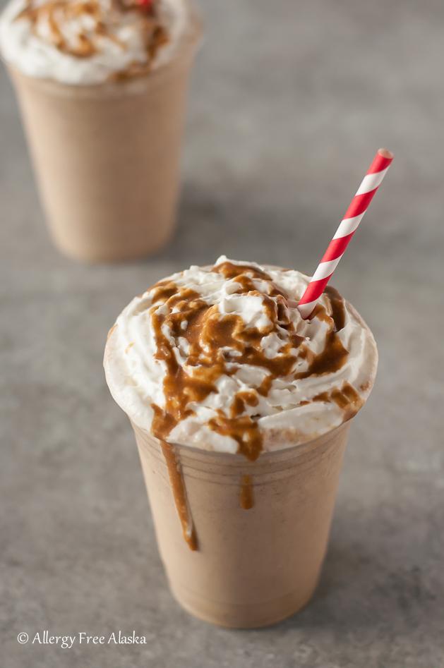 Vegan Salted Caramel Frappuccino Recipe