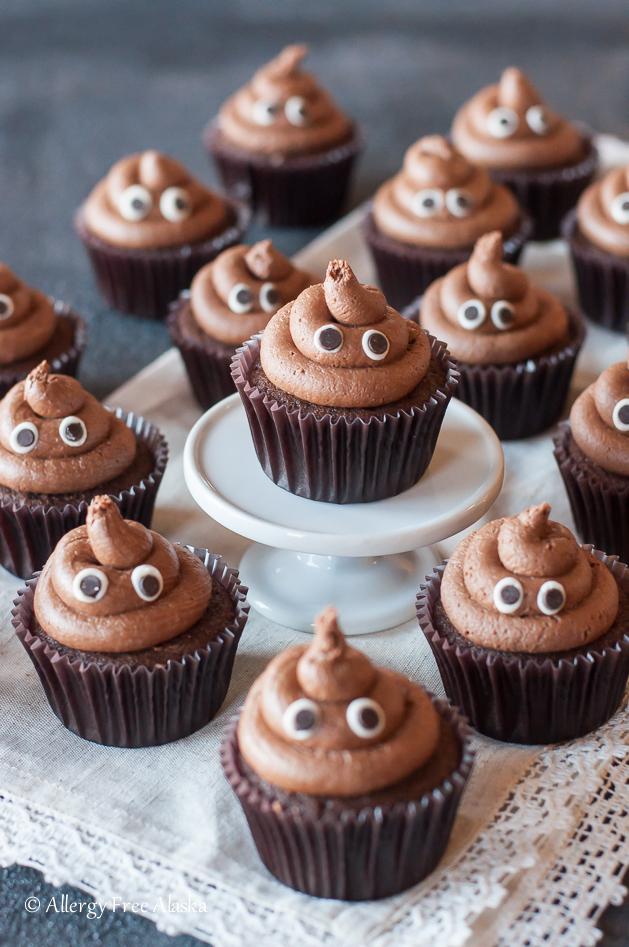 gluten-free-poop-emoji-cupcakes-recipe-allergy-free-alaska