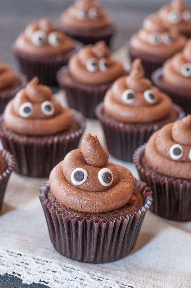 Gluten Free Poop Emoji Cupcakes Recipe Allergy