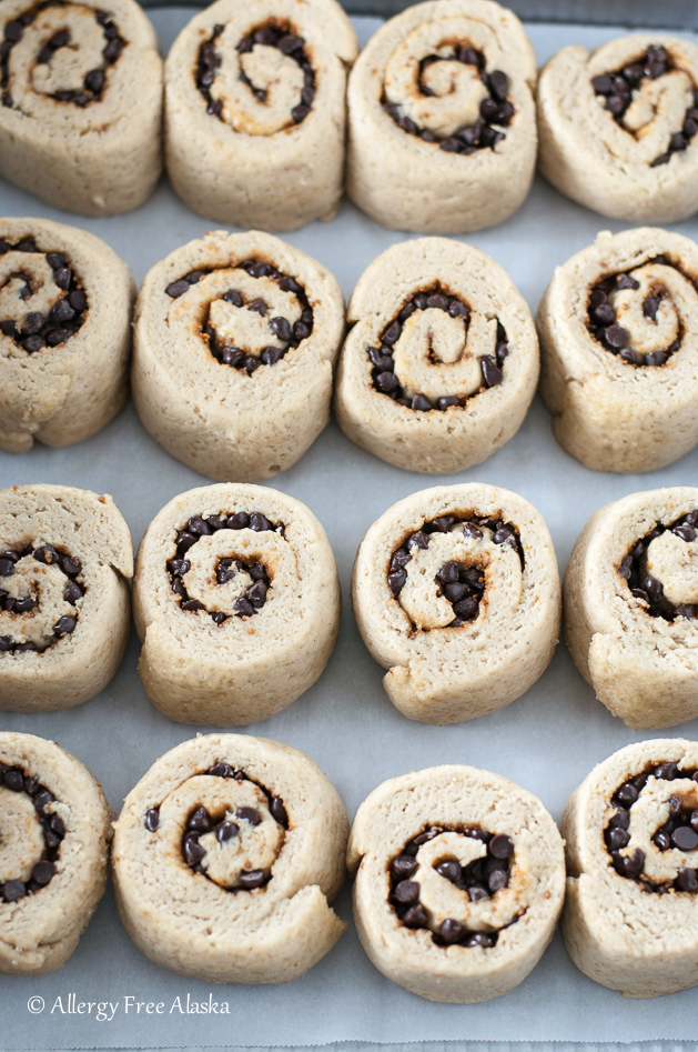 Chocolate Chip Cookie Sweet Rolls Recipe — Dishmaps