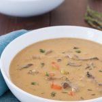 Dairy Free Vegan Cream of Mushroom Soup