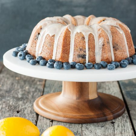 Gluten Free Dairy Free Blueberry Lemon Bundt Cake Recipe