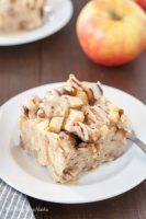 Gluten Free Apple Cinnamon French Toast Casserole