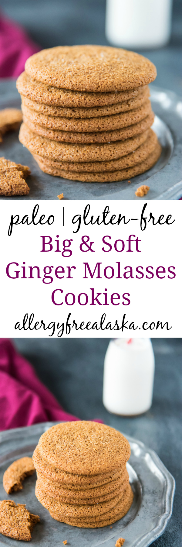 pinterest collage paleo ginger molasses cookies