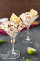 Fresh & Spicy Halibut Ceviche