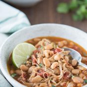 Instant Pot White Bean Chicken Chili