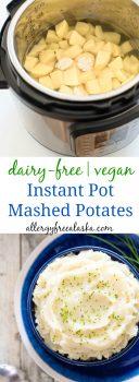 dairy free vegan instant pot mashed potatoes
