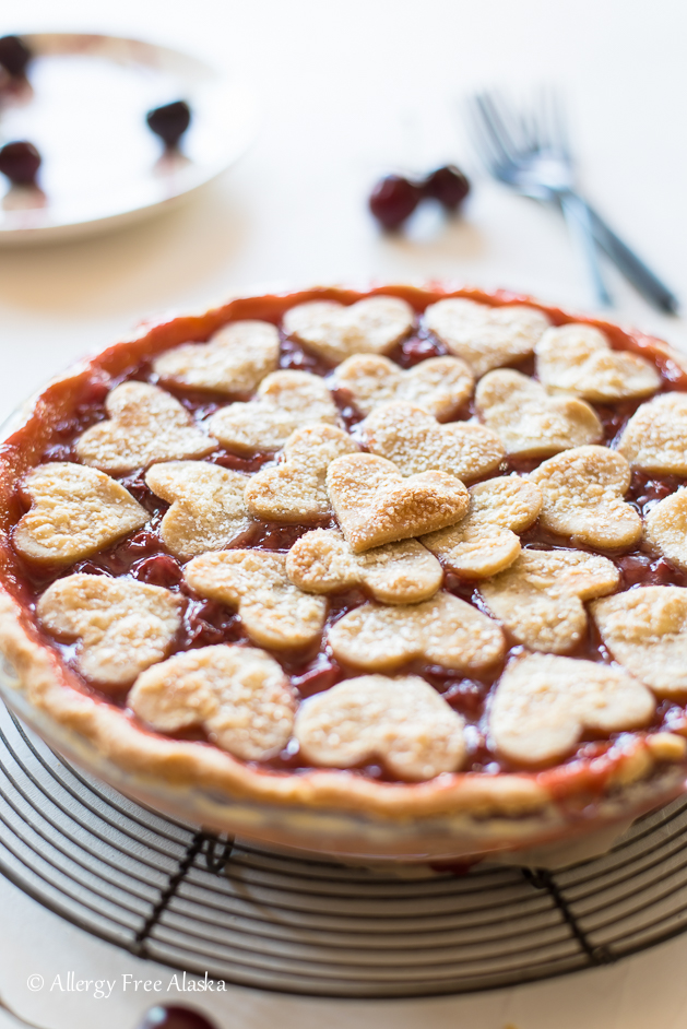 gluten free vegan cherry pie recipe