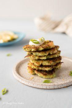 gluten free zucchini shrimp fritters recipe