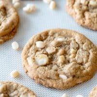 Gluten Free White Chocolate Macadamia Nut Cookies