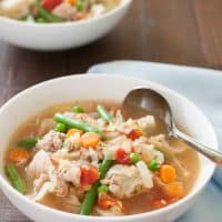 Ground Turkey Soup