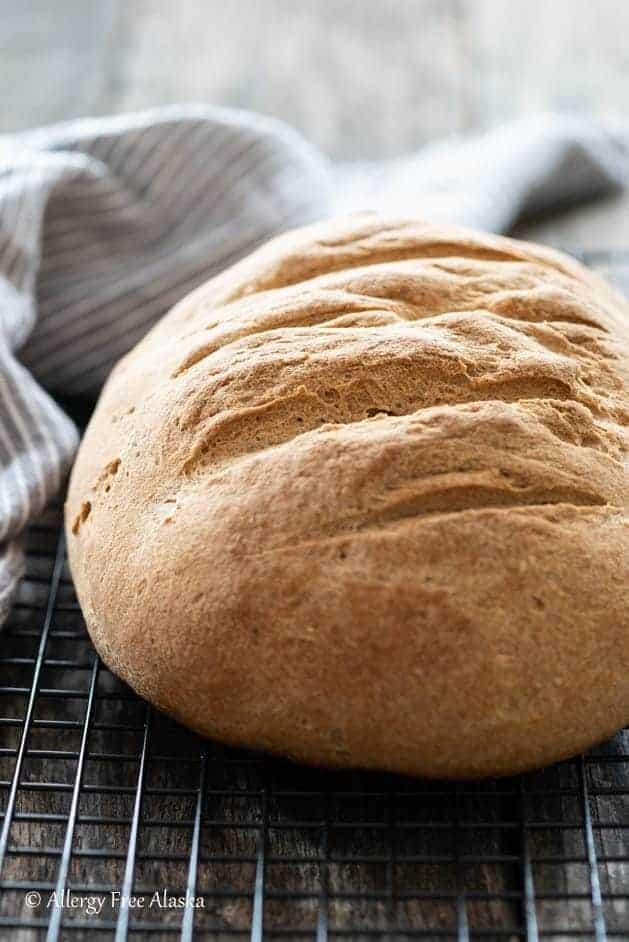 Artisan Gluten-Free Bread from Allergy Free Alaska