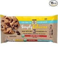 Nestle Toll House Simply Delicious Allergen-Free Semi-Sweet Chocolate Morsels – Chocolate Chips Made With Only Three Ingredients and Free From 8 Major Allergens, 10 oz. Bag