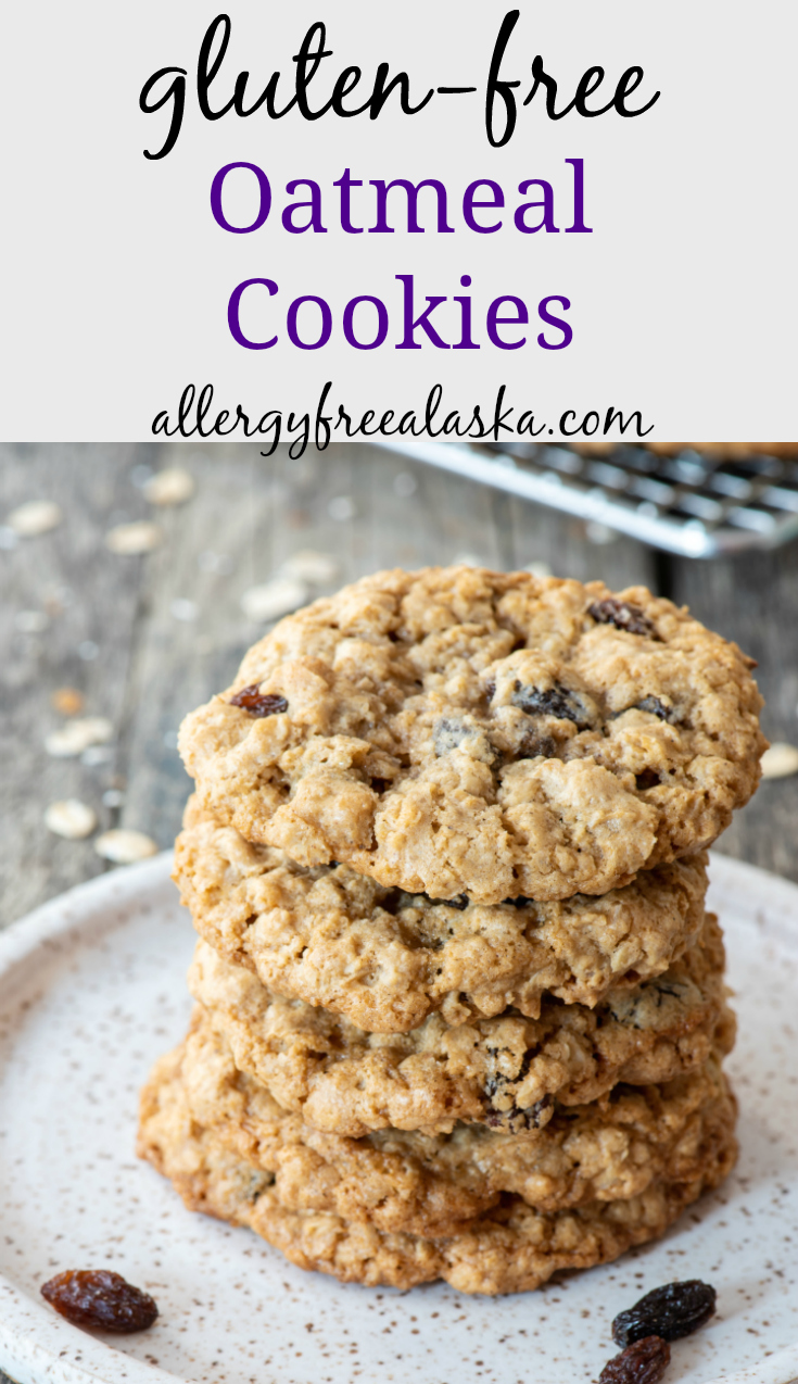 gluten free oatmeal cookies recipe pinterest collage