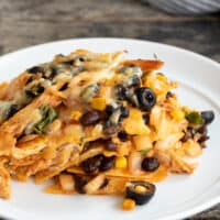 Gluten Free Enchilada Casserole