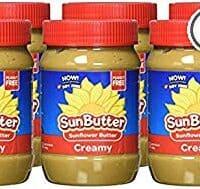 SunButter Original Creamy Sunflower Butter (Pack of 6)