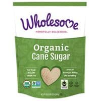Wholesome Organic Cane Sugar, Fair Trade, Non GMO & Gluten Free, 10 Pound (Pack of 1)