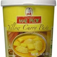 Mae Ploy Thai Yellow Curry Paste - 14 oz jar