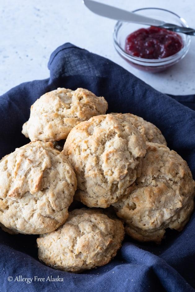 Gluten-Free Biscuits from Allergy Free Alaska